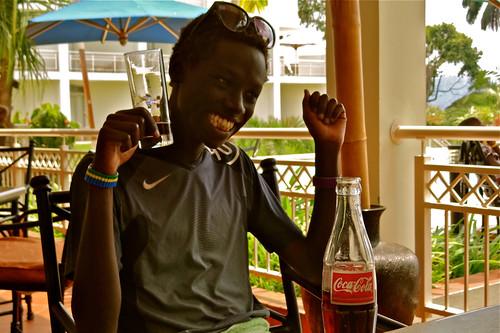 John, Lake Kivu