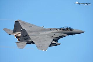 McDonnell Douglas Boeing F15E Strike Eagle 91-0331