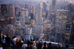 An evening at Top Of The Rock (gawel.fr) Tags: new york nyc newyork lumix panasonic g2 topoftherock