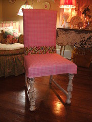 Chair 2 After (Clif Creations) Tags: junk furniture painted cottage thrift chic recycle shabby redo