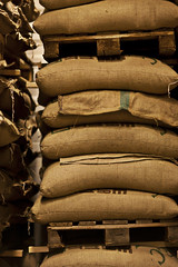 in the sacks ... (stinanco) Tags: christmas coffee java iceland beans mmmmm kaffitar atvinna