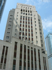Bank of China (Queen's Road faade) (Canadian Pacific) Tags: building architecture hongkong central bank artdeco  hongkongisland banking 2a bankofchina queensroad centraldistrict  desvoeuxroad        bankology ap1140333