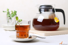 Mint Tea (ANOODONNA) Tags: food canon photography eos tea mint شاي 50d نعناع canoneos50d alrasheed alanood العنود الرشيد anoodonna العنودالرشيد alanoodalrasheed