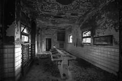 inside the orphanage - restrooms (Mr.Baldo) Tags: abandoned college decay orphanage exploration abandonedplaces abbandono industrialarchitecture decadenza baldo intruding collegio orfanotrofio abandoneditaly mrbaldo