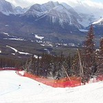 Great conditions in Lake Louise WC