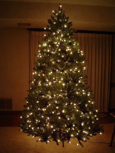unboxing my pre lit 7 12 foot tall pvc christmas tree 30 - 7 1 2 Foot Christmas Tree