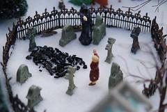 A Christmas Carol: Grim Reaper (hmcfabulous) Tags: christmas holiday snow grave graveyard death grim reaper jacob ghost scrooge carol come cloak yet marley ebenezer a