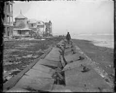 Big Northeast storm causes havoc in Winthrop (Boston Public Library) Tags: weather storms floods lesliejones