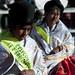 Cholitas aymara per la festa del 8 dicembre in Juli