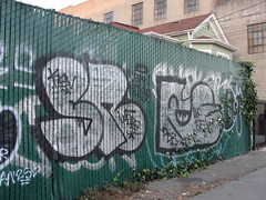 SNARL / REAK (Same $hit Different Day) Tags: de graffiti oakland bay east wd snarl pdb ksv reak