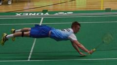 Match Saving Dive (Sum_of_Marc) Tags: sport wales scotland dive cardiff scottish international caerdydd yonex kieran badminton matchpoint merrilees kieranmerrilees yonexwelshinternational