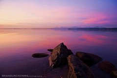 Mud Bay (Brandur Coombs) Tags: ocean old winter sunset sea canada cold color colour reflection beach rock night clouds dark outdoors photo interestingness interesting rocks colorful bc view pacific image pentax photos random britishcolumbia empty surrey best crescent explore photograph crescentbeach pentaxkx blinkagain