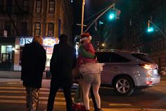 DSCF6309 (Josh Kesner) Tags: santa street nyc newyork 35mm fuji manhattan candid streetphotography finepix santacon gothamist f2 3200 x100 kesner fujix100 joshkesner