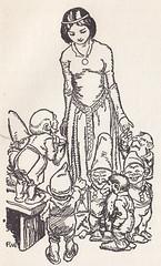 Der Kinder Wundergarten / Bild 16 (micky the pixel) Tags: illustration vintage buch book dwarf snowwhite childrensbook livre fairytales märchen zwerg grimm schneewittchen kinderbuch märchenbuch abelundmüllerverlag derkinderwundergarten