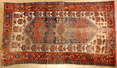 38. Antique Hand Tied Rug