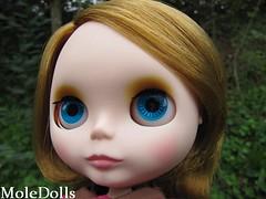 Blythe Custom Commission by MoleDolls