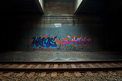 (break.things) Tags: nyc newyorkcity ny newyork graffiti jick wane