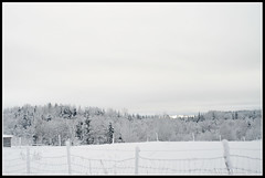 Winter (mmoborg) Tags: winter snow vinter sweden transport transportation sverige snö dalarna 2011 mmoborg mariamoborg