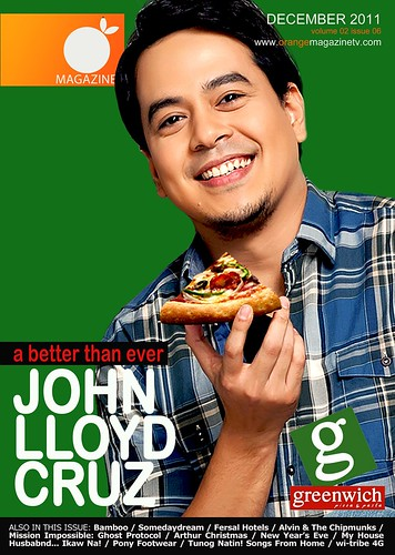 December 2011 Cover - John Lloyd Cruz