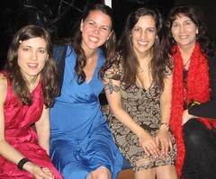 The Jennys with honourary Jenny from KVMR