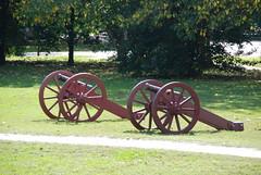 Revolutionary War Cannons - Colonial Williamsburg