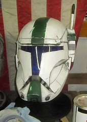 Fixer Nearly Finished (thorssoli) Tags: starwars costume helmet replica armor prop republiccommando deltasquad