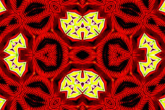 (eotiv) Tags: xmas red holiday abstract geometric colors last shopping design seeing hiding minute spending specials bloodbath hallucinations redtag