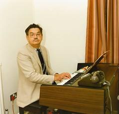 Ken Draper at the Organ (Voices Through Corridors) Tags: manorhospital