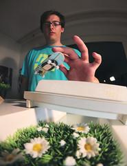 Bastian Stegen - At Danjos - KillinThat Bench (MartinBeckmann) Tags: bench concrete switch tv high ramp tech fuck off deck flip hollywood grind obama fingerboarding fingerboard flaked fingerboardtv