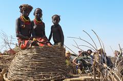 Dassanech Girls (sillie_R) Tags: girls portrait girl ethiopia dassanech