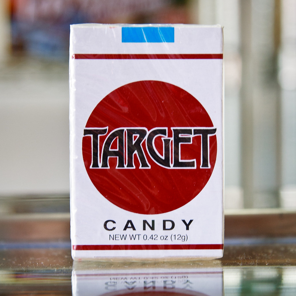 Target / Candy Cigarettes