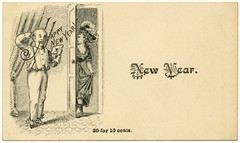 Happy New Year! 20 for 10 Cents (Alan Mays) Tags: old men socks vintage ads advertising cards typography women shoes holidays doors antique 19thcentury victorian feathers hats newyear ephemera cents type greetings suspenders advertisements fonts samples doorways envelopes typefaces nineteenthcentury greetingcards callingcards visitingcards addedtoip