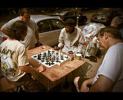 NYC - Checkmate (Matt Pasant) Tags: city nyc summer usa newyork america canon chess games morningsideheights