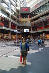 Me on CNN (ana_feliciano) Tags: news me tv eu headquarters international cnn hq