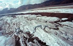 Ruth Glacier, Denali, AK (Riverman___) Tags: park sky snow color film ice rock alaska photography nikon kodak voigtlander aerial glacier national 400 20mm ruth 40mm denali portra pilot tundra slii