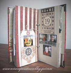 DD#2_DAY18&19 (alexandra s.m.) Tags: christmas holiday scrapbooking paper noel dd papier minialbum minis decemberdaily hipstamatic