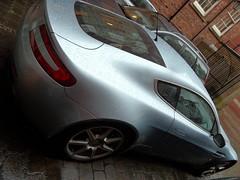 Aston Martin Vantage - rear 3/4 view (johnnyg1955) Tags: leeds cadsin astonmartin astonmartinvantage v8 vantage coupe s6psn car vehicle alltypesoftransport worldcars