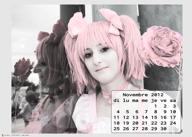 Calendrier Cosplay 2012 - 11 - novembre