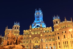 Madrid - Plaza Cibeles (Fabro - Max) Tags: