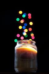 Candle Light Bokeh II (Drone Photography) Tags: christmas cup lights focus bokeh wizard pocket softbox kahlua strobist sppedlight 430exii canon5dmkii matthewwoitunski