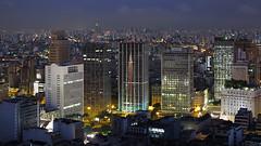 Sao Paulo (david.bank (www.david-bank.com)) Tags: brazil urban brasil canon twilight skyscrapers saopaulo dusk powershot bluehour 169 g12