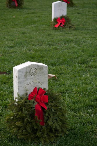 Wreaths for the Unknown Soldiers