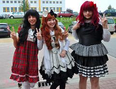 Me and my brolita friends 8D (bee_scuit) Tags: bee lolita sweetlolita brolita