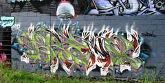 b pano (ladypenrhyn) Tags: graffiti brisbane qld queensland graff tfh