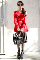 Lady in Red (lusttforlife) Tags: red vintage blogger cashmere givenchy costumenational cynthiarowley outfitpost