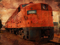 Rusty 4090 (sambasupernova) Tags: ca old railroad canada color colour art history classic abandoned industry colors metal train canon vintage rockies artwork rust iron flickr track industrial bc diesel antique britishcolumbia decay edited transport tracks engine machine rusty rail railway zug loco trains can canadian oldschool historic forgotten transportation rails historical colored weathered locomotive canadianpacific cp cranbrook past cpr derelict industrie crusty railfan corrosion trainspotting corroded locomotora 1953 lokomotive lindustrie corrode alco industriales loko icapture rustiness 4090 fa2 sambasupernova
