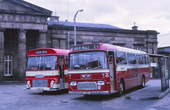 Highland BA16  Inverness (Guy Arab UF) Tags: bus ford buses group scottish 1966 highland 1968 alexander busstation willowbrook inverness reliance aec omnibuses t19 ytype r192 scottishomnibuses ba16 ews140d pus496f
