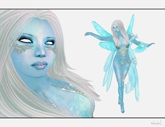 Fallen Gods - Ice Crystal (Naniel ) Tags: ice wings pixie sl fairy secondlife eis fee icecrystal flgel fallengods wasabipills