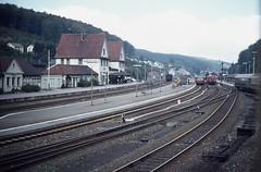 Brilon Wald station 1977 (Hen's March) Tags: station minolta railway bahnhof 101 1977 seventies wald srt siebziger brilon agfacolor ct18