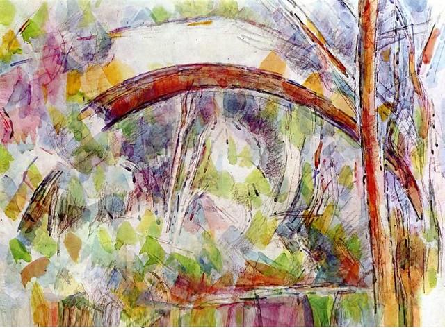 Pont-de-la-rivière-aux-trois-source-de-Paul-Cézanne